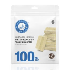White Chocolate Cookies N Cream Minis – 100mg $30.00