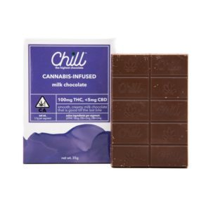 Chill Milk Chocolate 100mg $20.00
