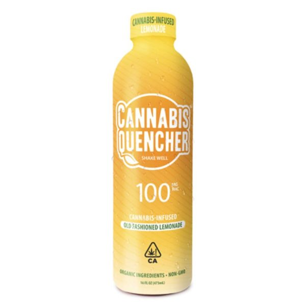Old Fashioned Lemonade Cannabis Quencher – 100mg $30.00