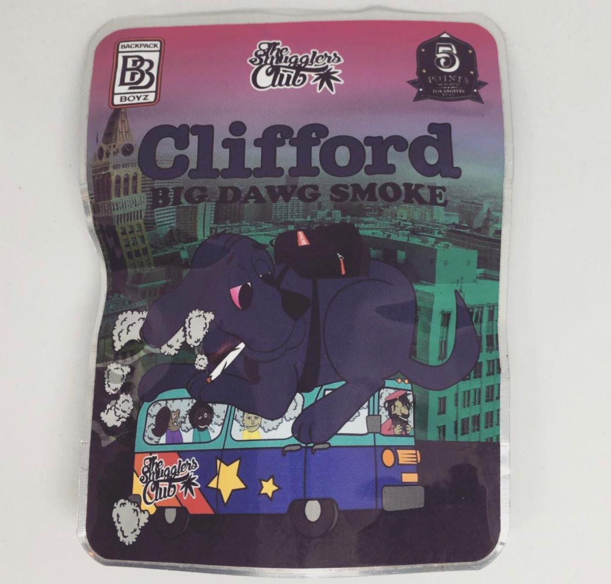 Clifford Big Dawg Smoke Backpackboyz
